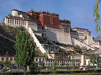 der Potala-Palast in Lhasa